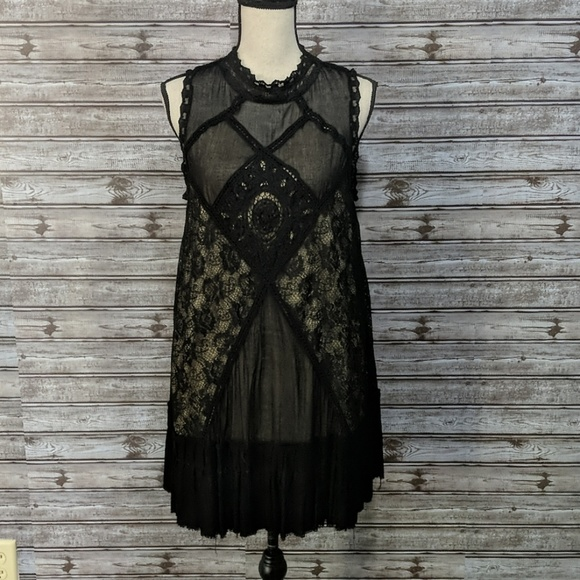 Free People Dresses & Skirts - Black dress by Free People large
